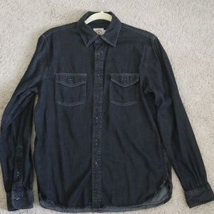 Brooks Brothers Pocketed Chambray Sport Shirt
